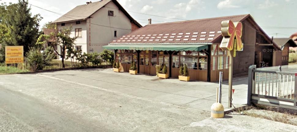 Pogled na trgovinu iz smijera Zagreba